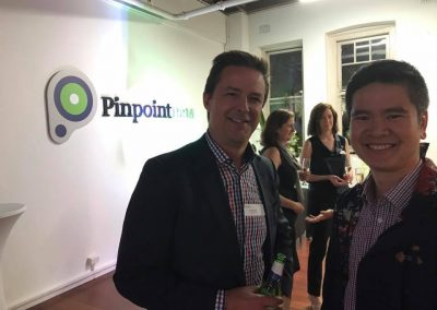 Craig Aunger from Pinpoint HRM and guest