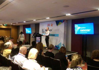 HR Tech Summit Sydney 2017 Eugene Newman Pinpoint HRM